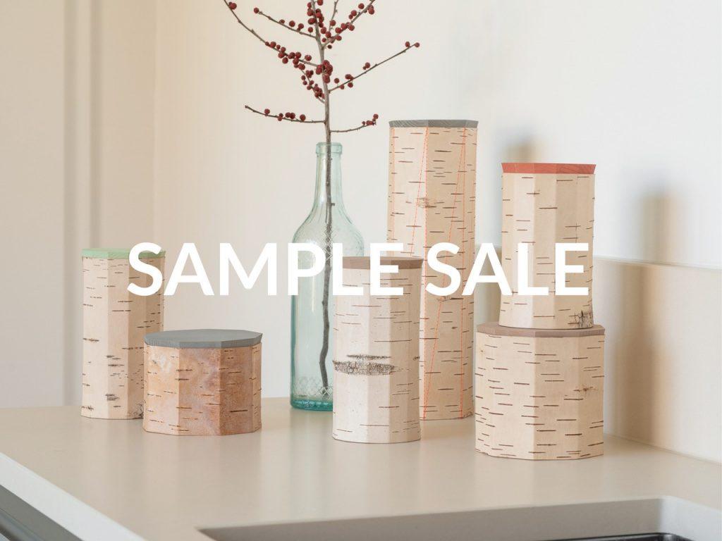 Sample Sale Nachhaltige B-Ware aus Birkenrinde