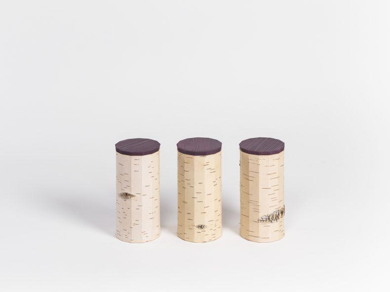Tuesa / Set of three (plain edition)